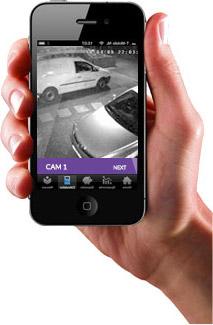 Remote Access Camera App
